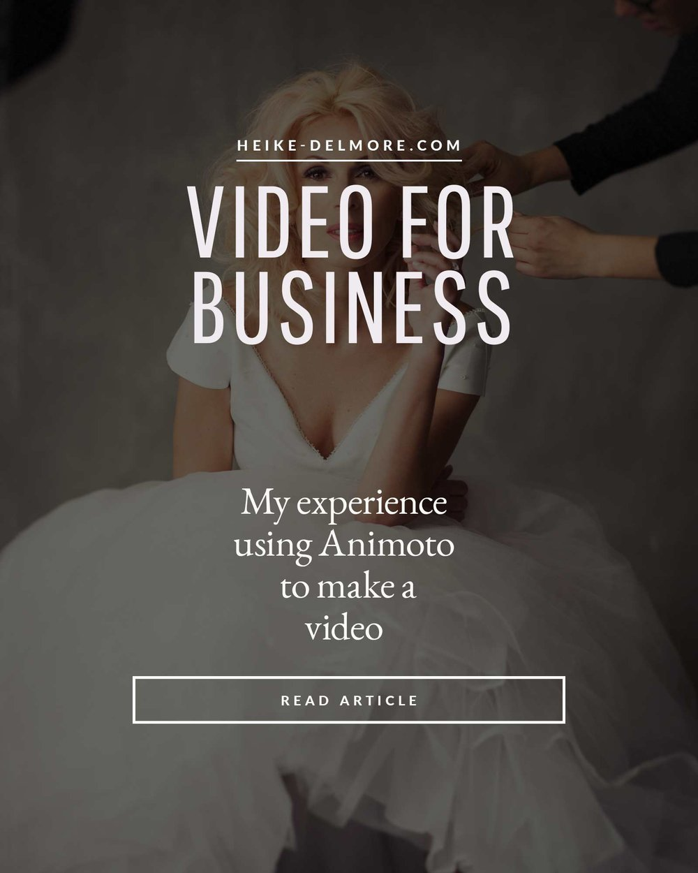 Animoto Photography business making video marketing Animoto