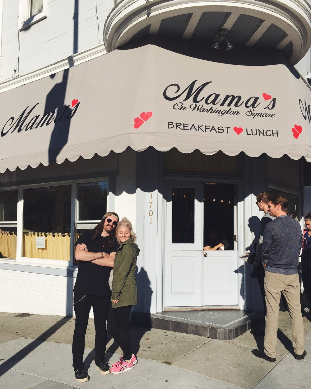 Breakfast will never be the same. If you make it to SF, don't leave without eating at Mama's!