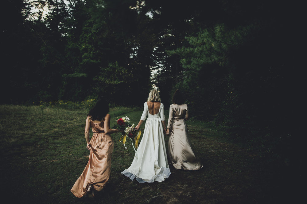 Wedding dress Chantel Lauren loretta gown A line sleeve