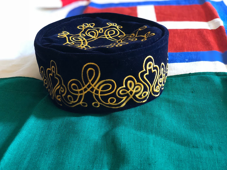 Check out our reproduction of General Garibaldi's Smoking Cap for Lord Rivers