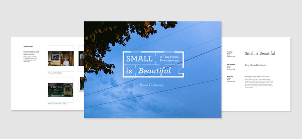 Small is Beautiful brand guidelines