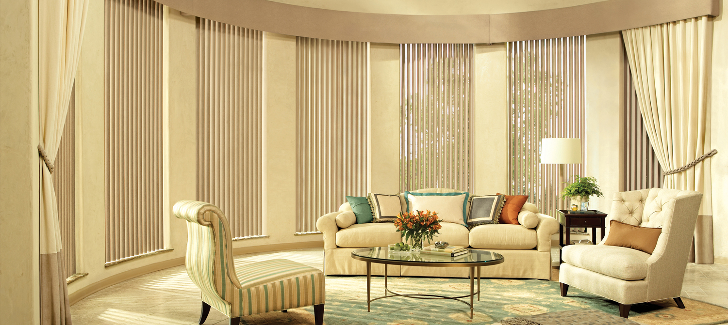 Vertical Blinds And Curtains Together - Vertical 13 jpg