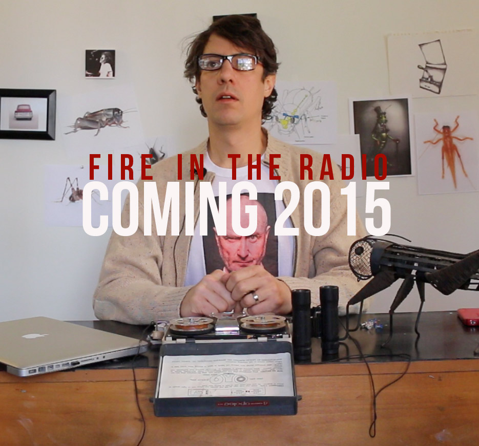 """Screen shot from the Fire in the Radio short video series, Episode 401 """"Crickets."""""""