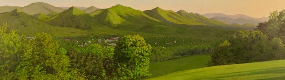 "Buena Vista from Above - 18""x61"""