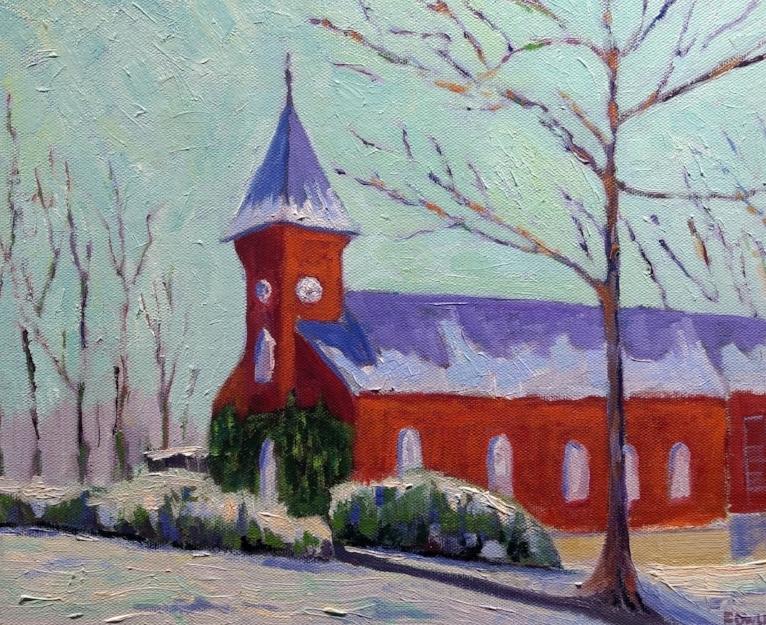 Lee Chapel - 11x14 - $385