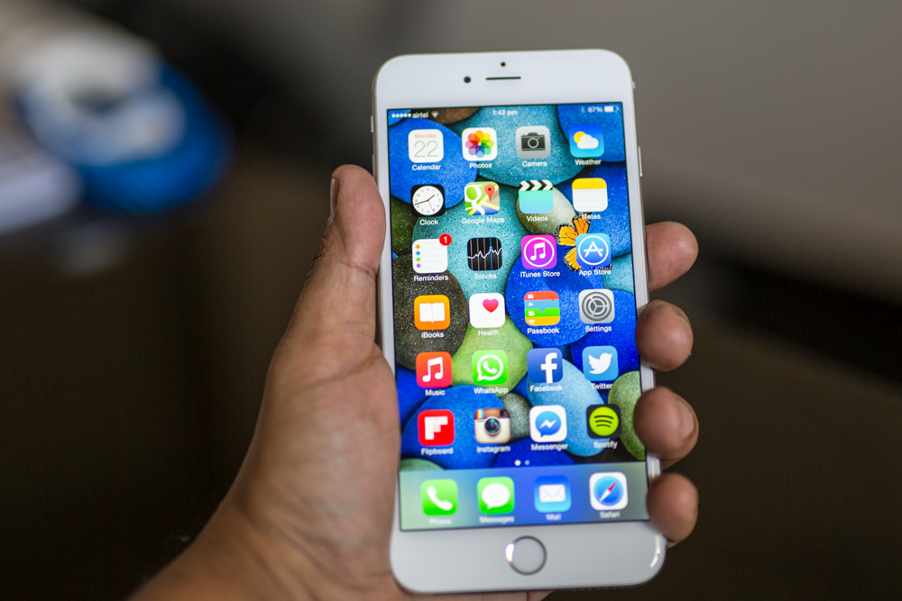 The iPhone 6 plus will take time getting used to. But you can never go back.
