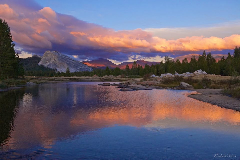 Sunset On the Tuolumne