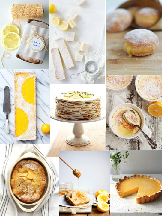 lemon inspiration board