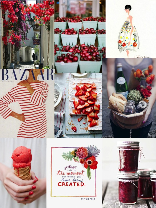 Joie Girl Inspiration Board