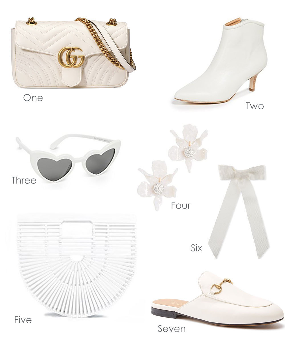 White Accessories for Fall