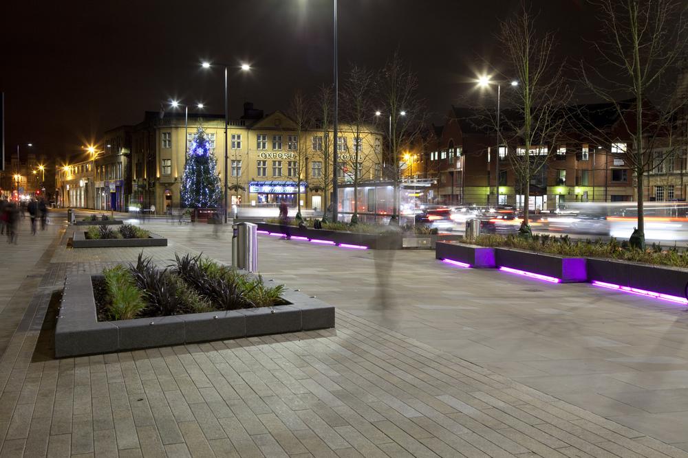 Frideswide Square, Oxford (December 2015)