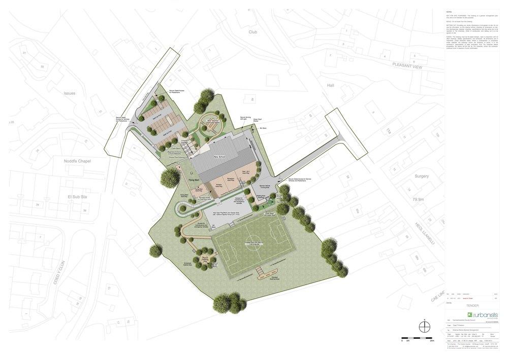 Proposed landscape general arrangement plan