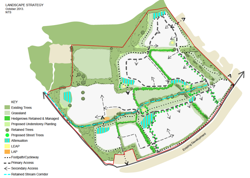 Walters Farm Landscape Masterplan, Barry