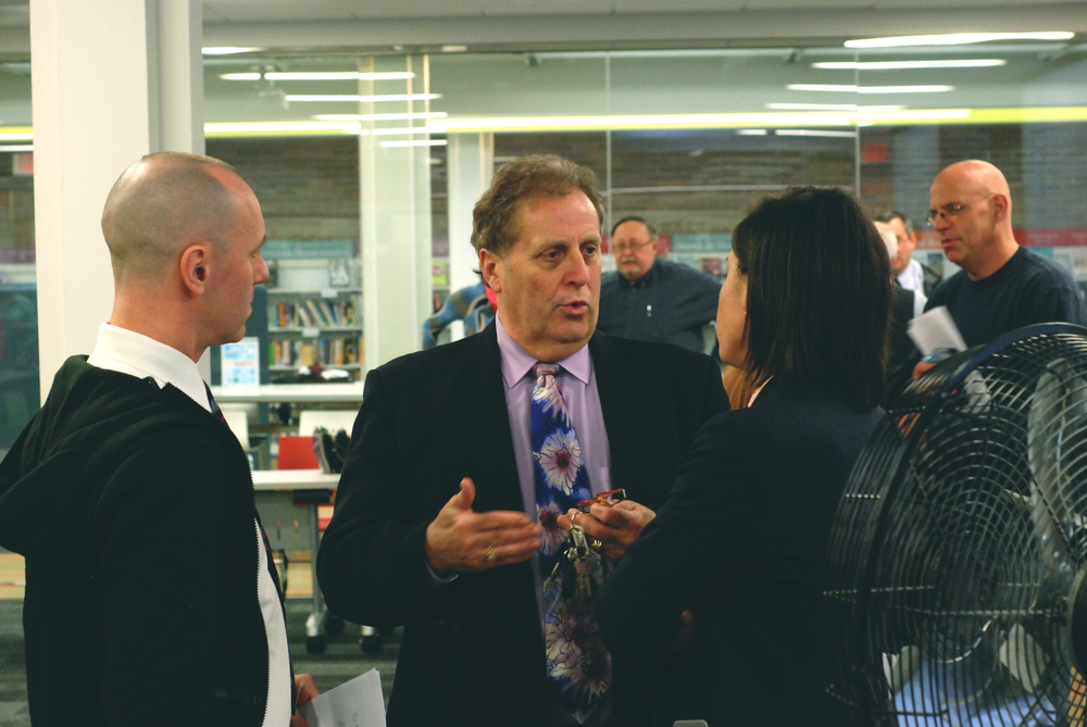 David and Wayne Motley talk with Christine Nannicelli