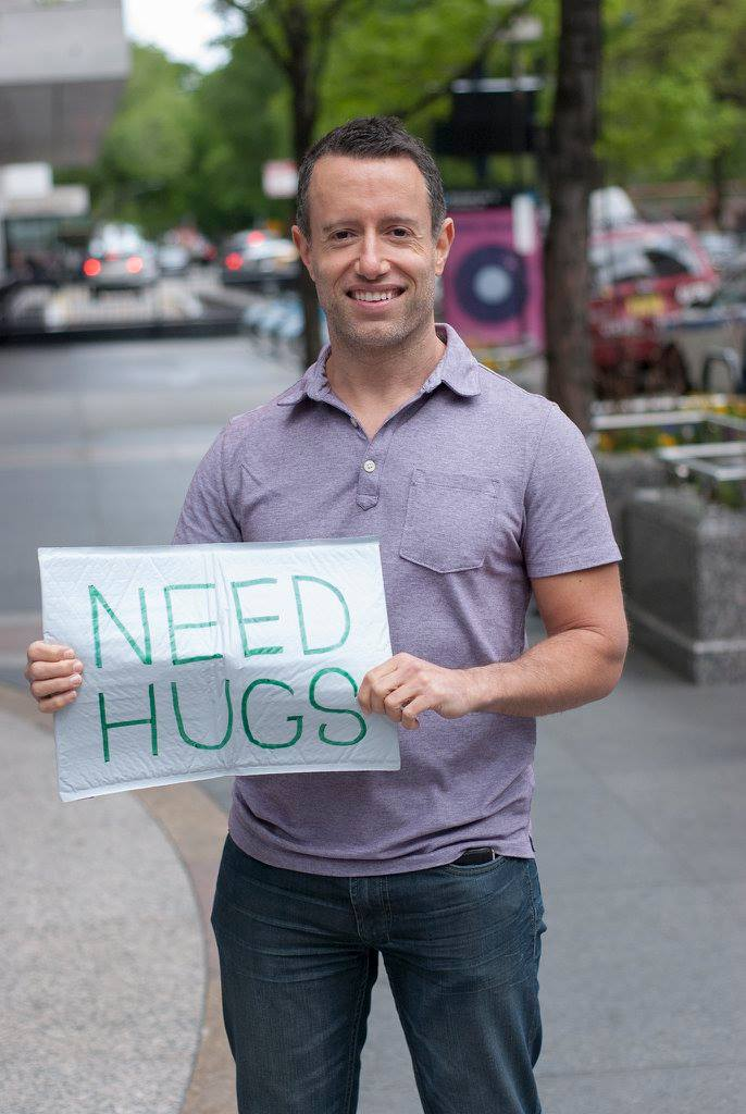Mark Abrams, founder of Spread the Hug