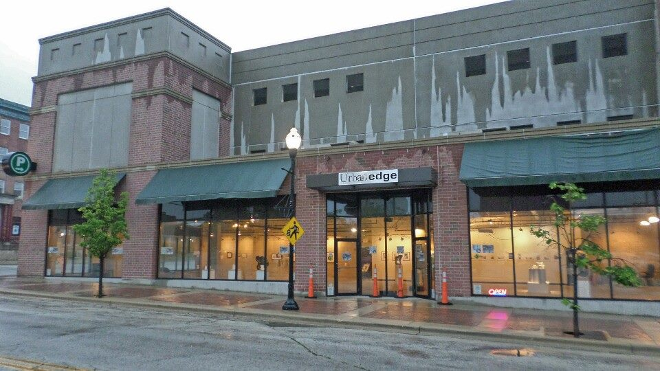 Urban Edge Gallery in downtown Waukegan