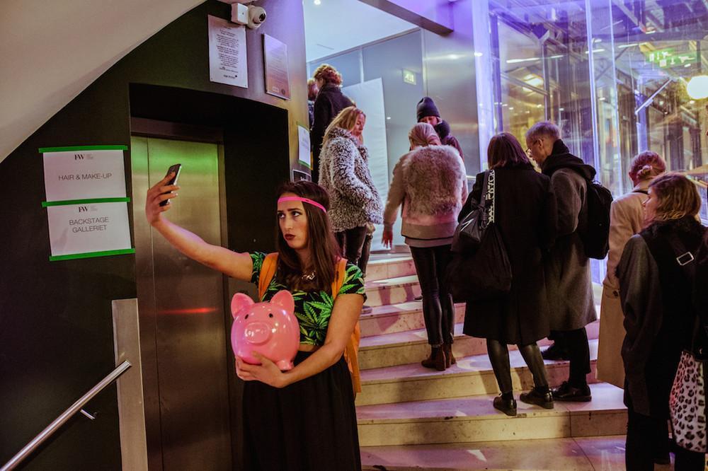 I Dressed Like an Idiot at Stockholm Fashion Week , VICE Magazine
