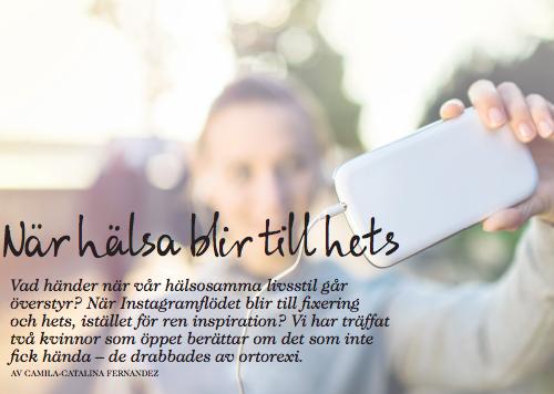 När Hälsa Blir Till Hets , PLAZA Kvinna (Swedish)