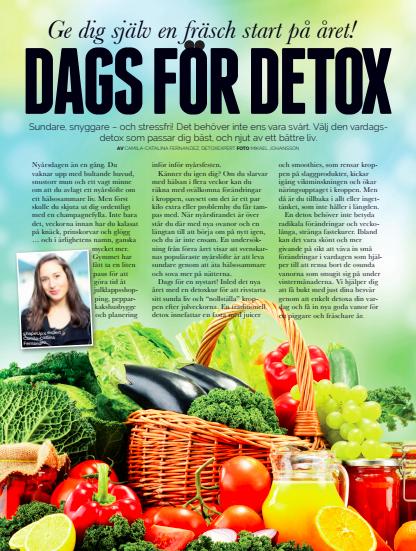Dags För Detox , ShapeUp (Swedish)
