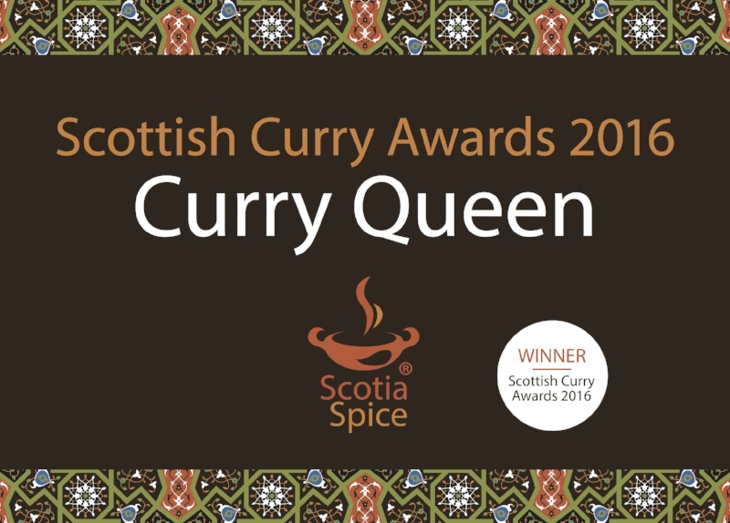 Curry Award Winner 2016 Scotia Spice