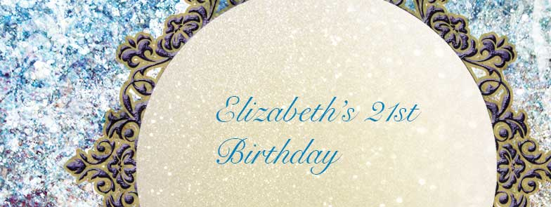 Facebook Header for Elizabeth's Birthday event page
