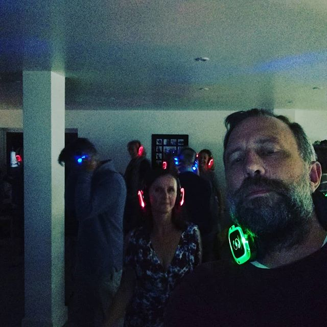 Silent discos are so much fun