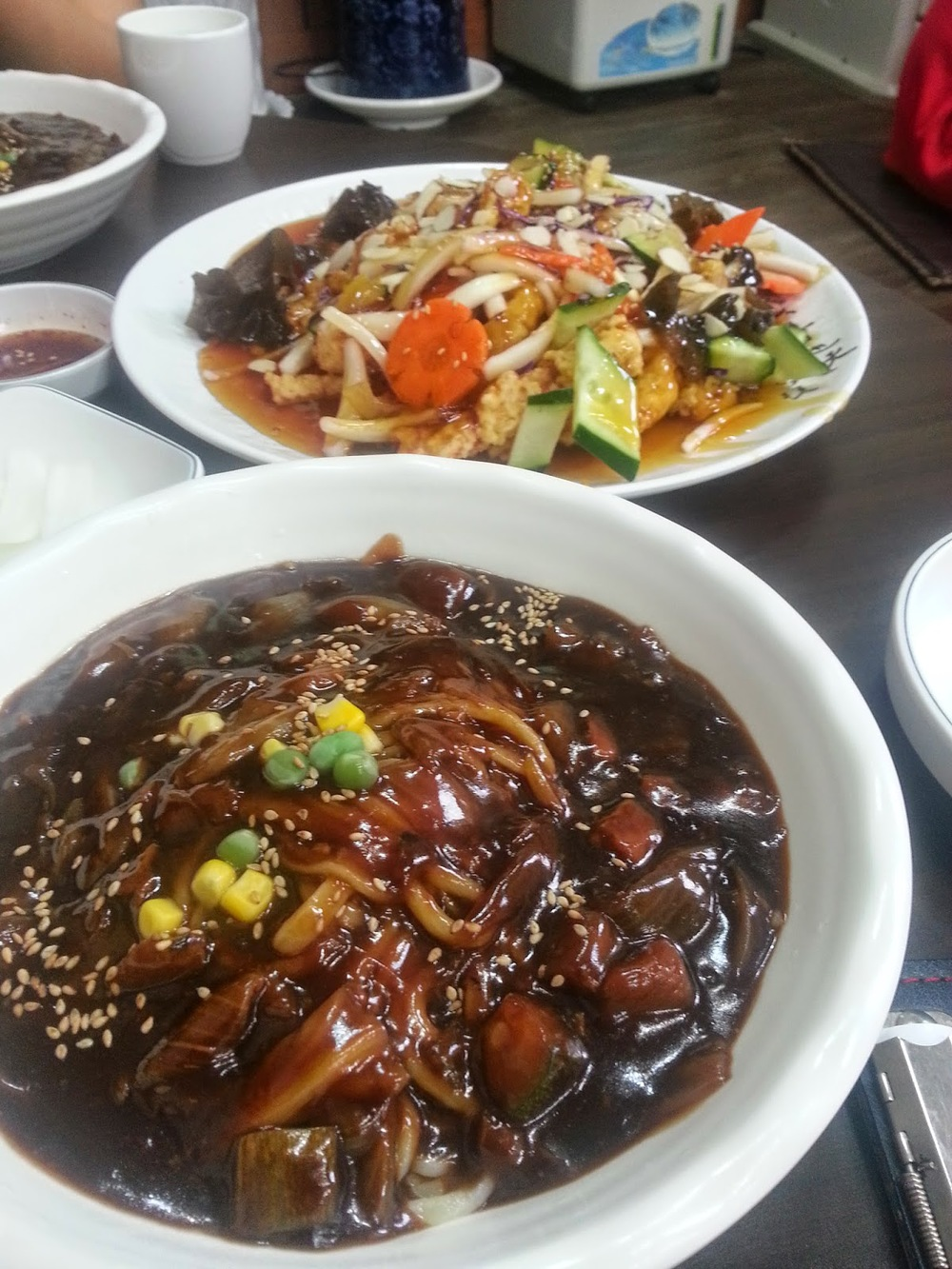Image gallery korean chinese food for Asian cuisine delivery