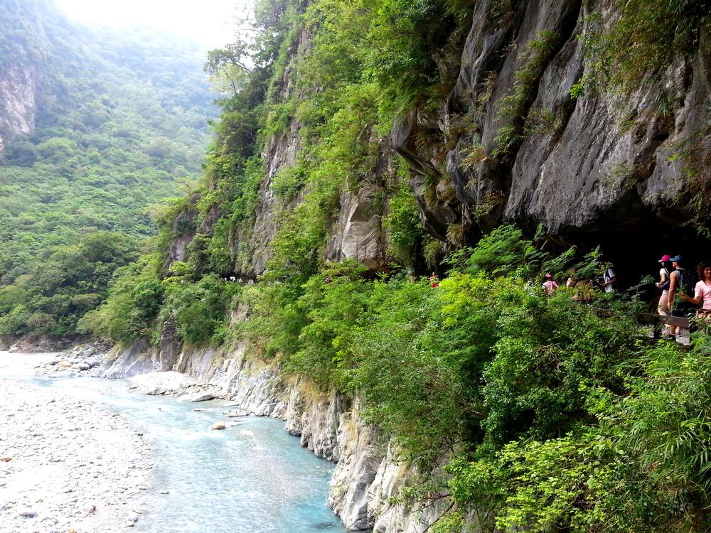 Taiwan Hualien Taroko Gorge Hiking.jpg