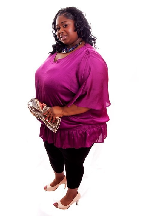 Rianne Ward - CEO of Evolve Magazine  Co founder of British Plus Size Fashion Week