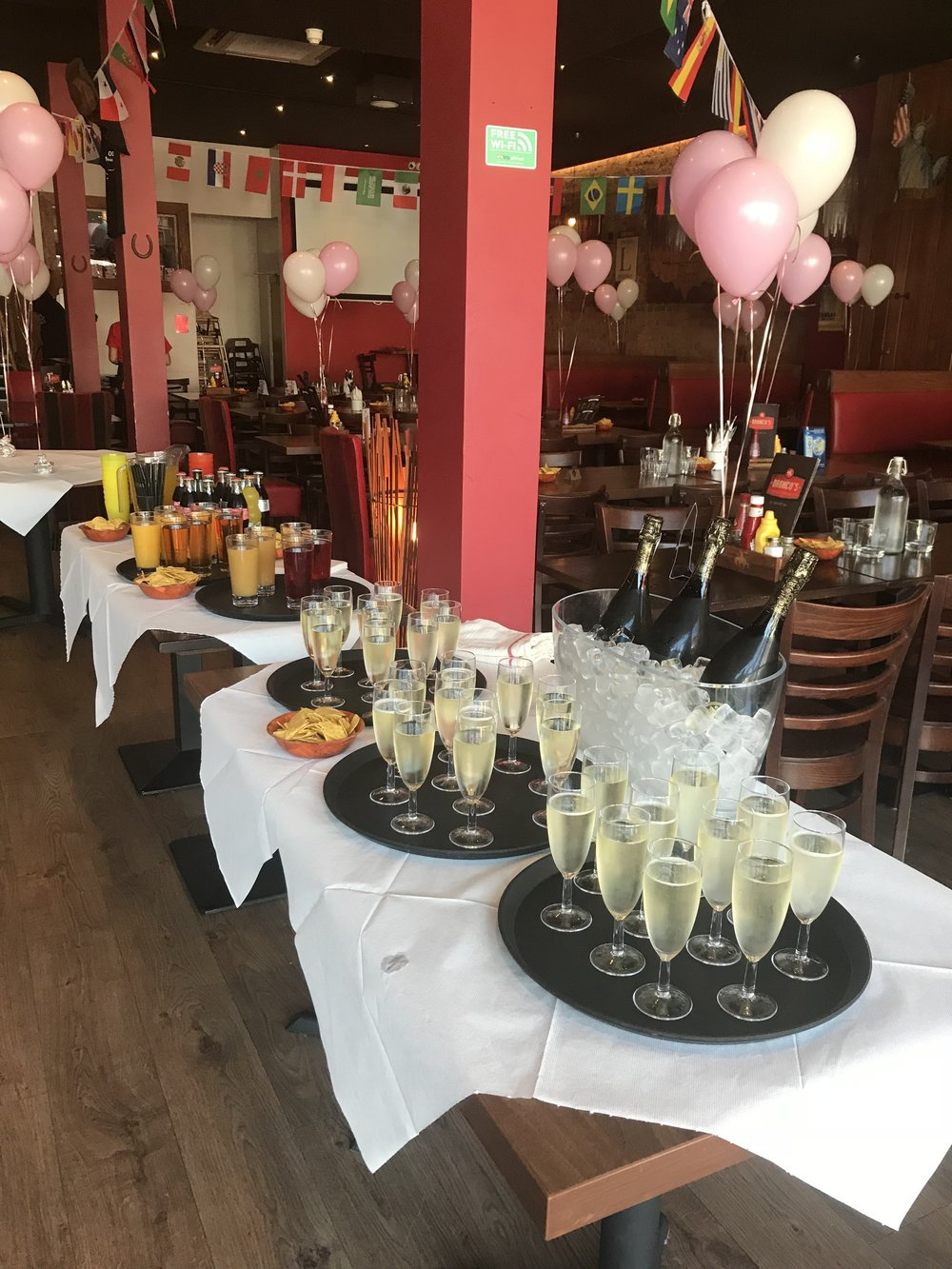 Let us help you plan your party -