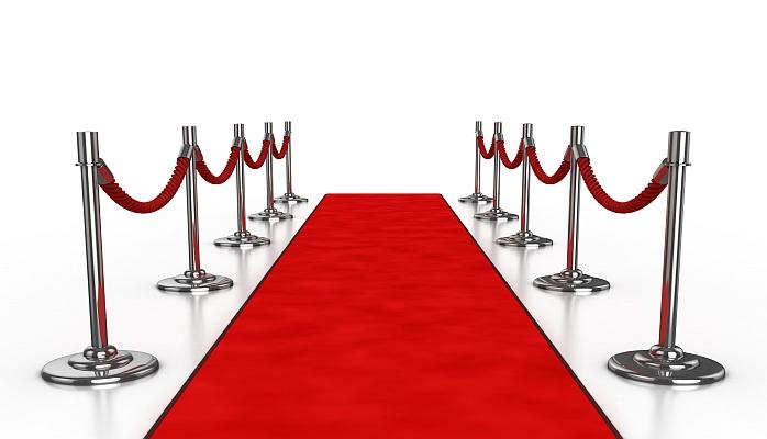 Red Carpet Set