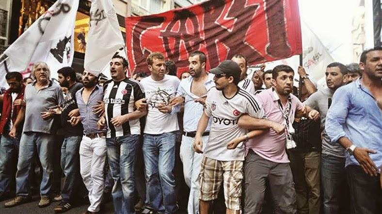 Bugun Carsi Grubu'nun uyelerinin de aralarinda oldugu 35 kisi  Gezi'deki rolleri nedeniyle darbe girisimi ile suclandi