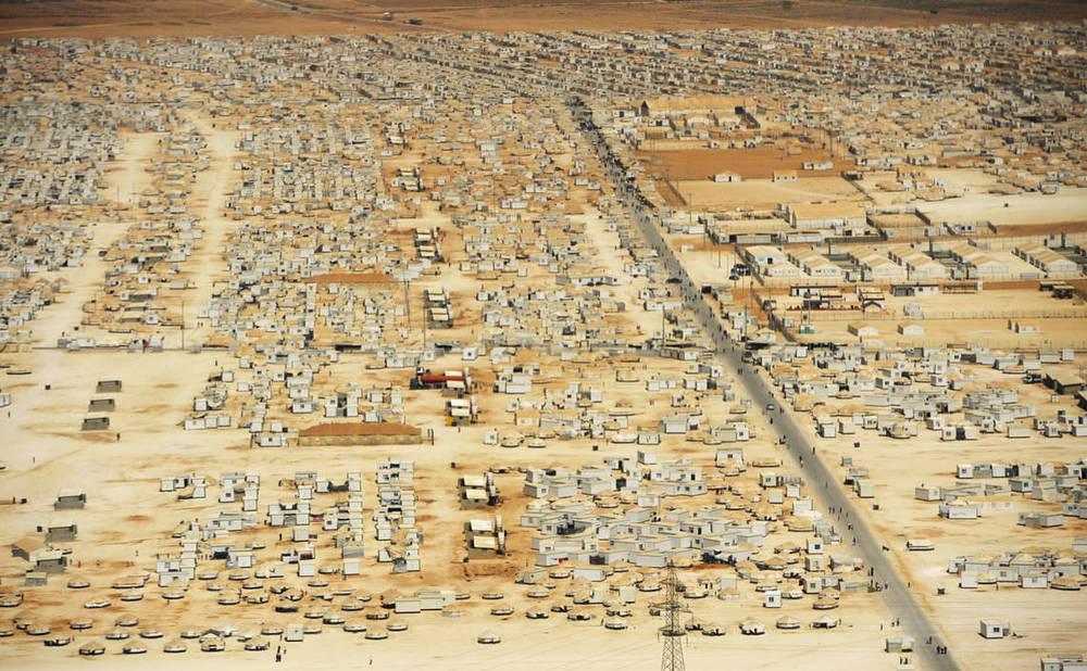 Zaatari mülteci kampı:2012'den önce bir çöl parçasıyken, bir sene içinde Ürdün'ün 4. büyük şehri oldu