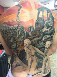 Mağara alegorisini dövme yaptırmış bir felsefe aşığı