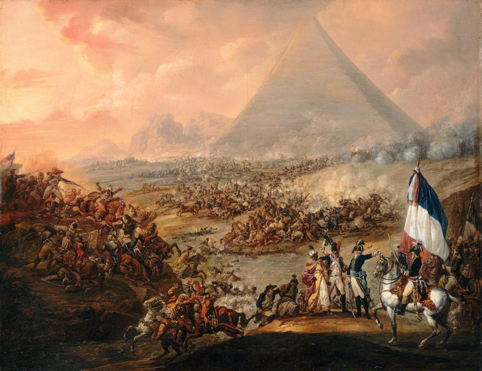 Battle of the Pyramids, François-Louis-Joseph Watteau