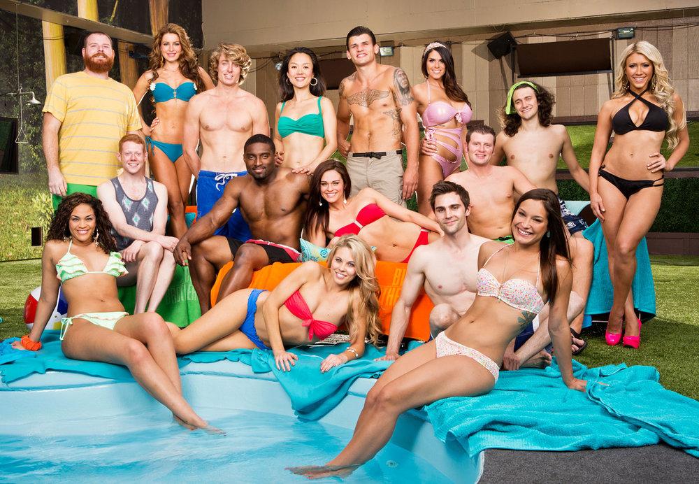 """İngiltere'deki Big Brother şovunun """"hipergerçek"""" kadrosu"""