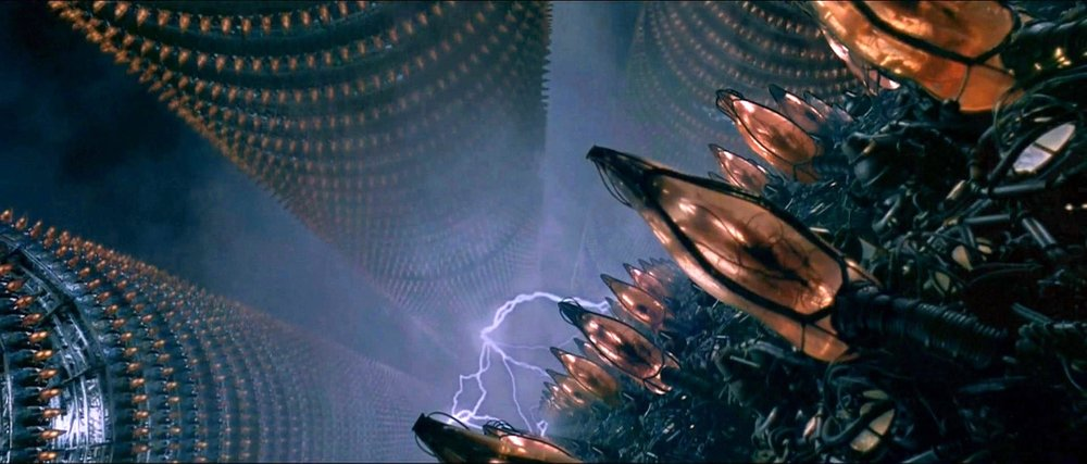 Film efekti mi, fırtınalı bir havada Hong Kong mu belli değil.
