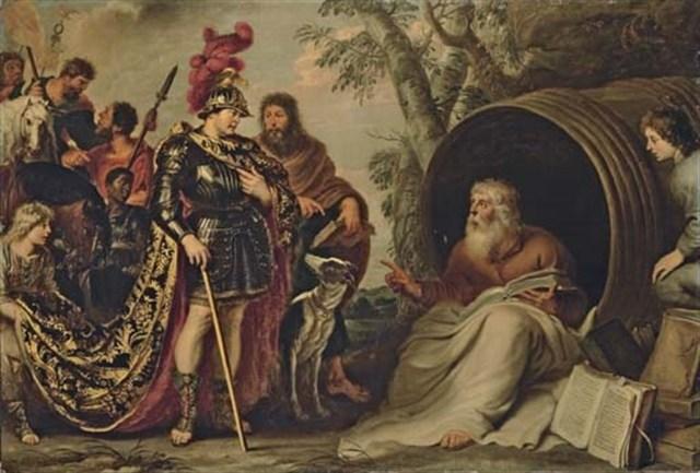 Buluşma anını böyle hayal etmiş ressam Jean Leon Gerome.1860.