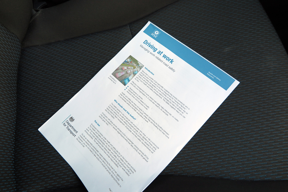 Photo: HSE Driving at work documentation