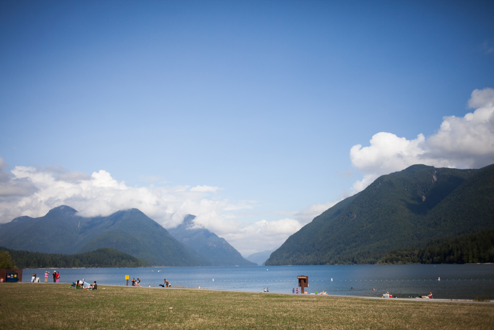 The insanely beautiful Alouette Lake, which we got to visit on the last full day of the gathering.