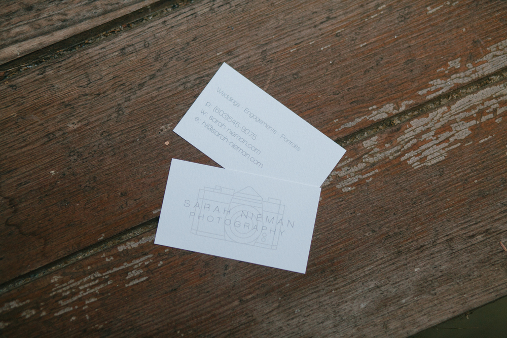 Simplest business cards Ive ever had, and probably also my favorite.