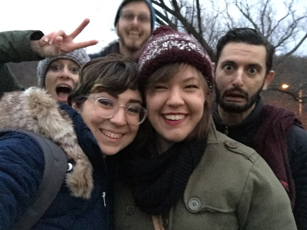 Thanks to Marissa for this. Photographers know how to photobomb in the best way.