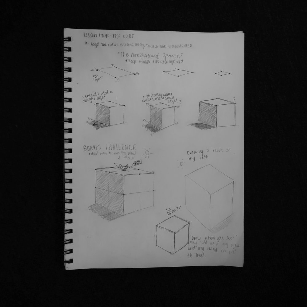 Lesson 4: The Cube