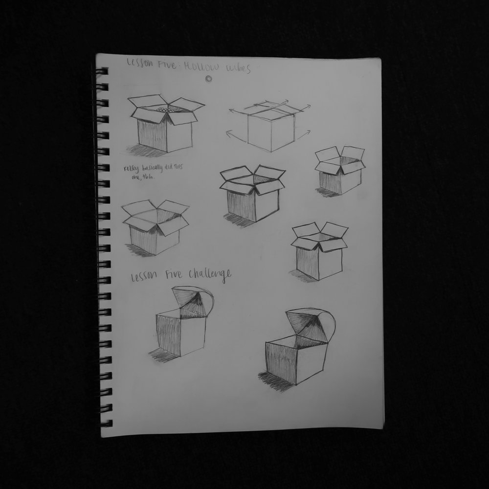Lesson 5: Hollow Cubes