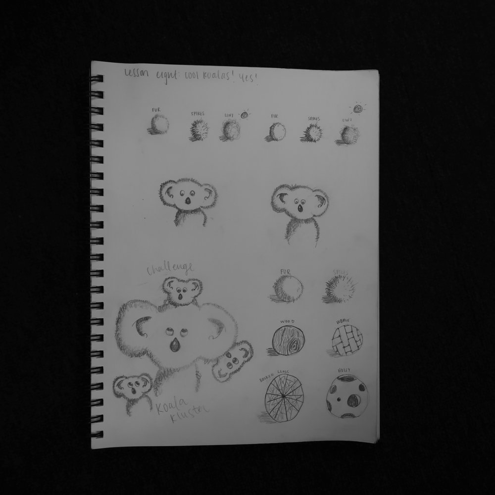 Lesson 8: Cool Koalas