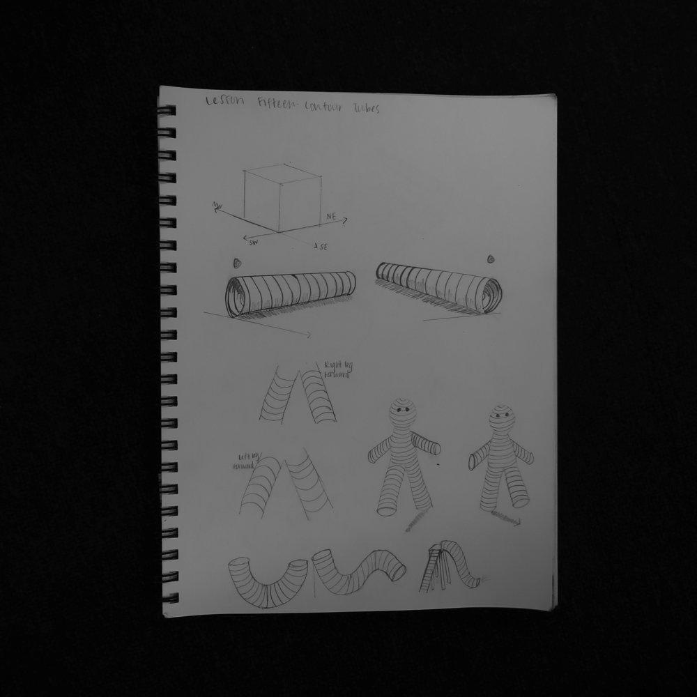 Lesson 15: Contour Tubes
