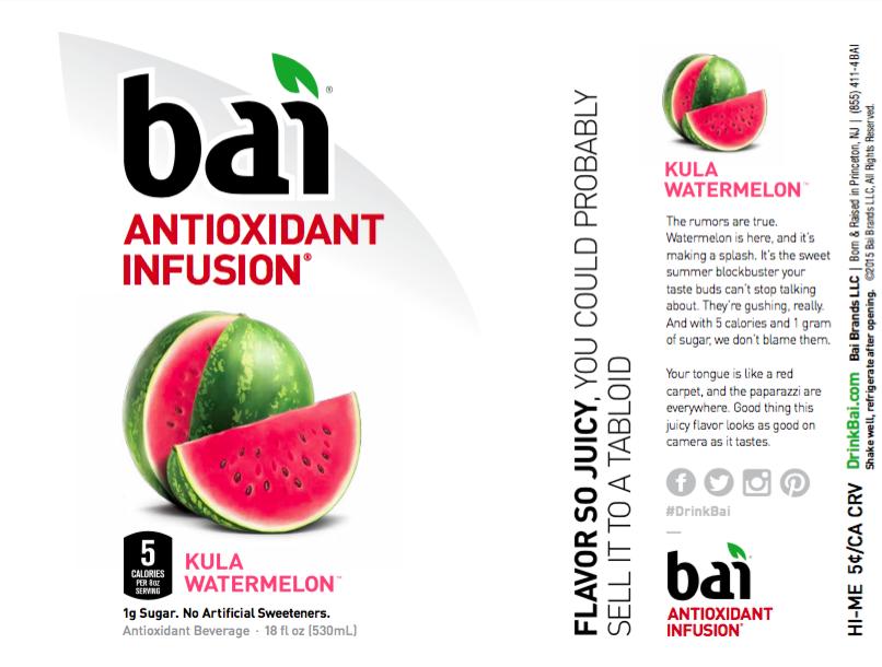 Bai Product Labels