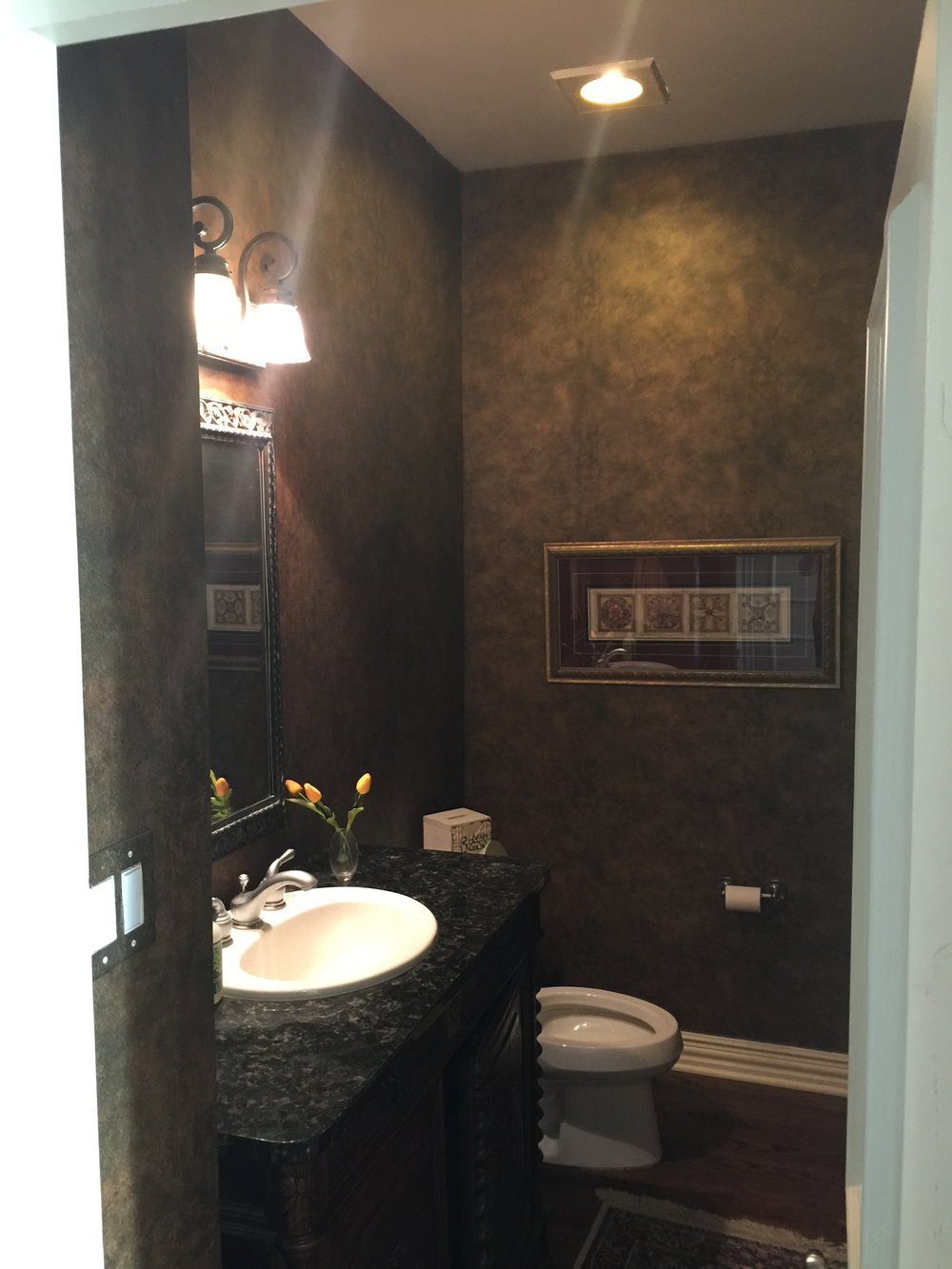 Bathroom Remodel - Southlake TX - Before and After