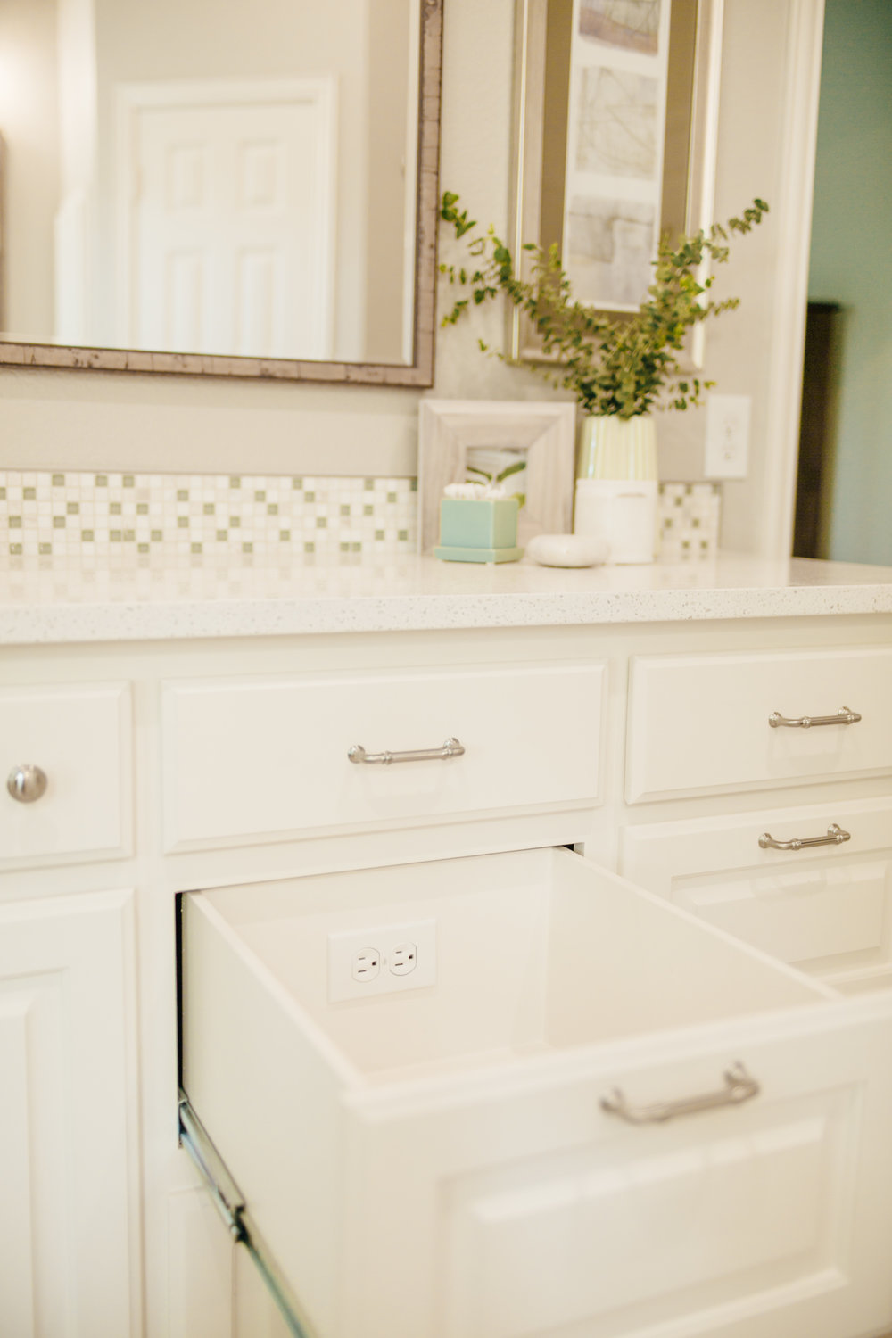 Master Bathroom Remodel with Custom Cabinetry