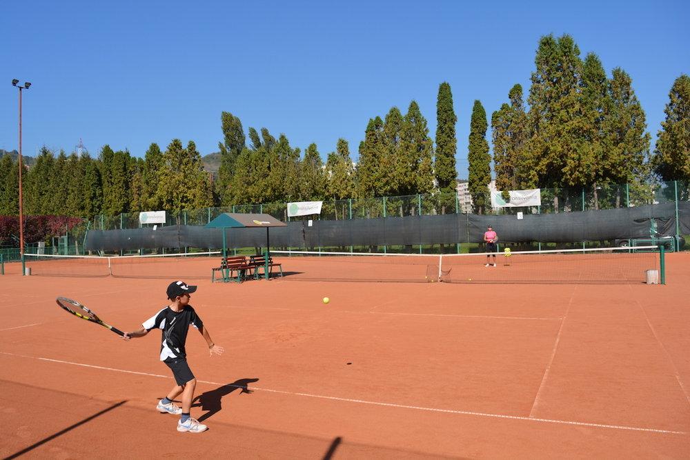 antrenamente tenis cluj